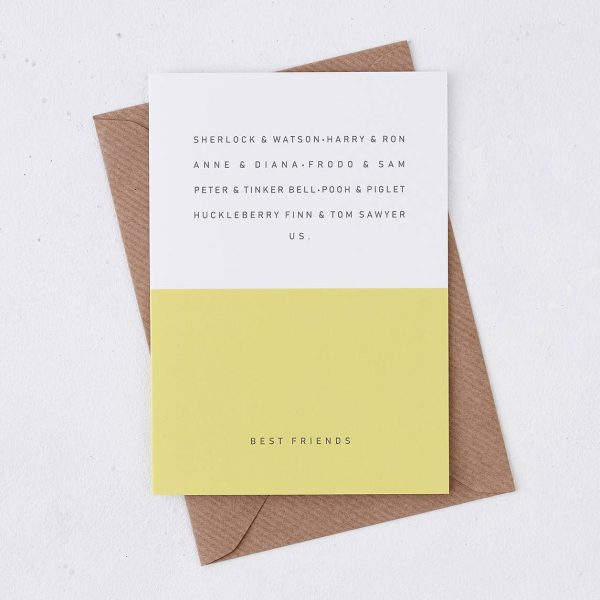 Friends Greeting Card - Best Friends
