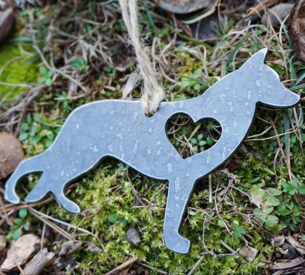 Metal Ornament - German Shepard