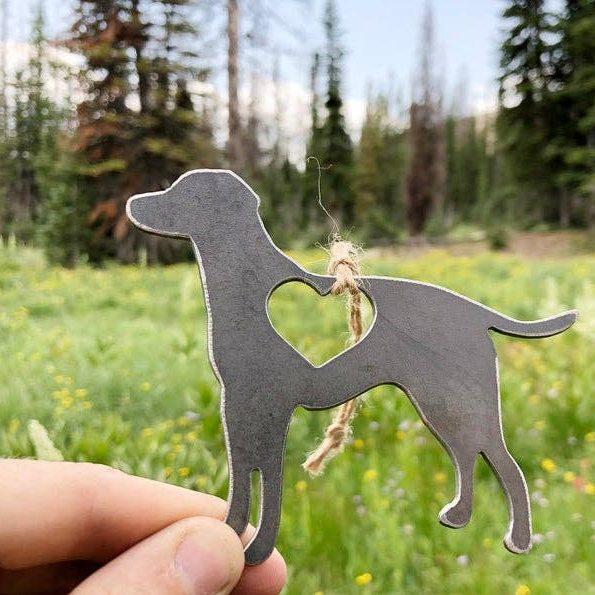 Labrador Retriever Metal Ornament