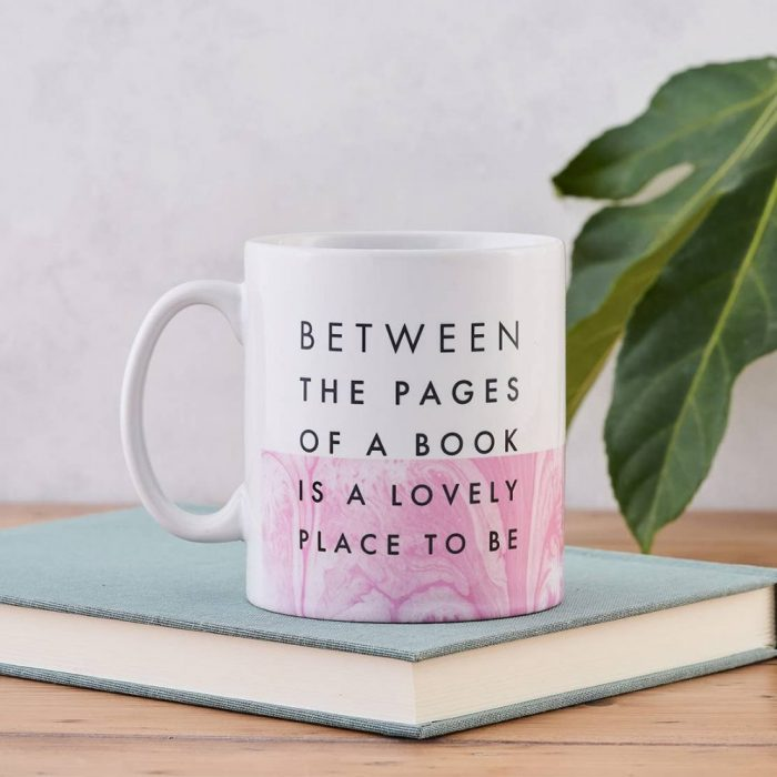 Coffee Mug - Between the pages of a book