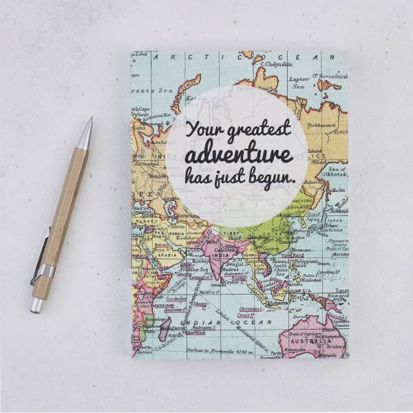 Travel Journal - Greatest adventure travel journal